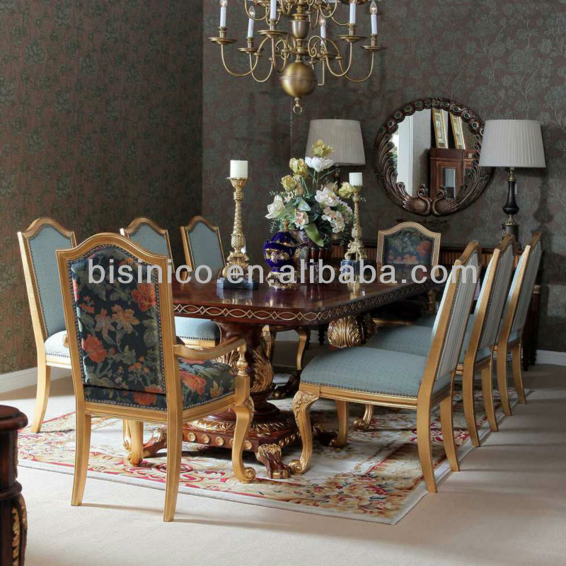 Antique Luxury Windsor Style Dining Set Dining Room Kitchen Furniture Dining