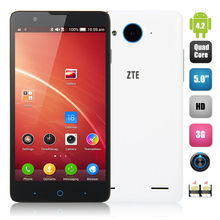 4G lte Mobile Dual Sim Wifi ZTE U9180/V5 Red Bull Qualcomm MSM 8926 Quad-core 4G 5.0 inch 1G 4G 5.0 +13.0MP Dual Camera