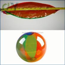 """Custom Inflatable Beach Ball - 1 pc Rainbow 6-panel, 18"""" Custom Wholesale Beach Ball inflatable beach ball"""