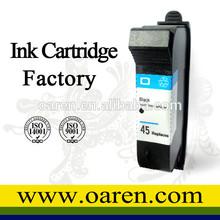 compatível cartucho impressora hp 51645 impressora jato de tinta cartucho impressora hp 45