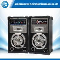 super woofer dj active speaker with USB/SD/FM function