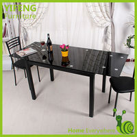 Fashion Glass Banquet Table/glass Dining Table