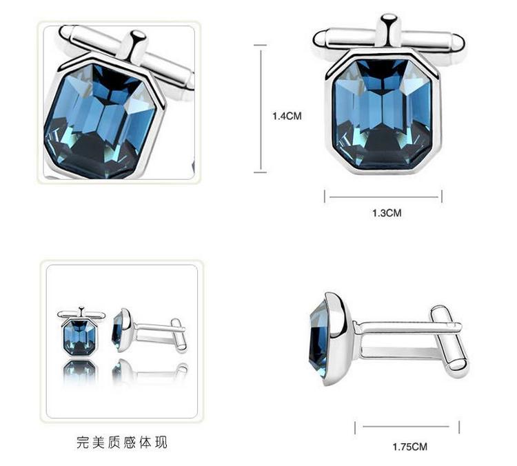 Hombres gemelos gemelos de cristal de swarovski china - Fabricantes de cristal ...