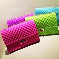 CD033 china wholesale online shopping silicone shoulder jelly handbag