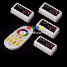 4-zone remote control color changed wholesale led controller wifi solar controller m-7
