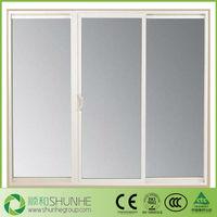 large size triple glass sliding door