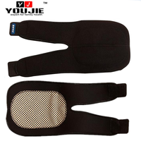High quality free size magnetic self heating elbow brace