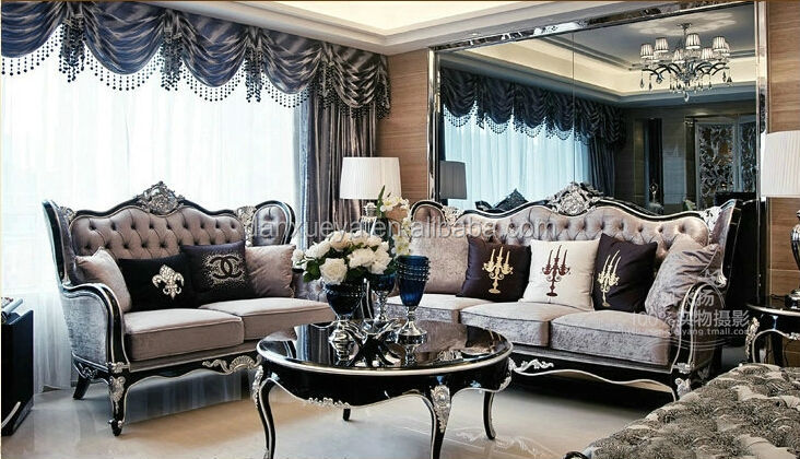 Baroque meubles salon marocain de en usa canap salon id for Photo salon contemporain baroque