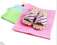 Wholesale bulk cheap fancy cute travel storage bag non woven fabric drawstring shoe bag