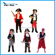 Fancy Dress cosplay Polyester Kids carnival costumes Pirate costumes Halloween costumes