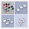 Different shapes crystal colored fancy stones for mobile phone cover DIY