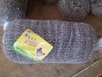 stainless steel galvanized scouring pad