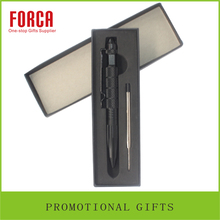 Hot Selling High Quality Gift Customized Tactical Self-defence Ballpoint Pen With Gift Box Set