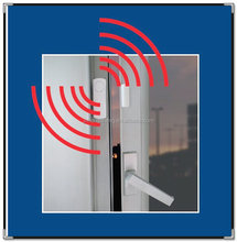 4-Piece Wireless Mini Window Security System Alarm Set