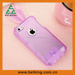 Transparent case for iPhone 5 5S, For iPhone 5 5S TPU rabbit case