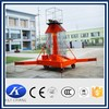 Telescopic Cylindrical Type Aerial Working Platform, screw lift mechanism