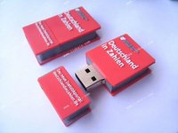 customize shape 3D pvc promotional book dictionary usb flash drive 4GB 8GB