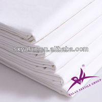 100% Cotton or polyester cotton wholesale textiles hotel white linen plain/stripe/jacquard/satin fabrics