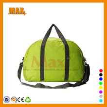 Max+ Factory Wholesale Polyester Waterproof Duffel Bag Gym Bag Foldable Travel Bag