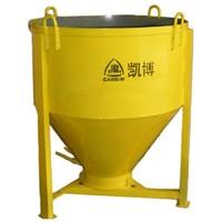 1000L Round Vertical Manual Concrete Skip