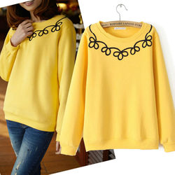 D21068A LADIES NEW THICK SHIRTS HOODIE