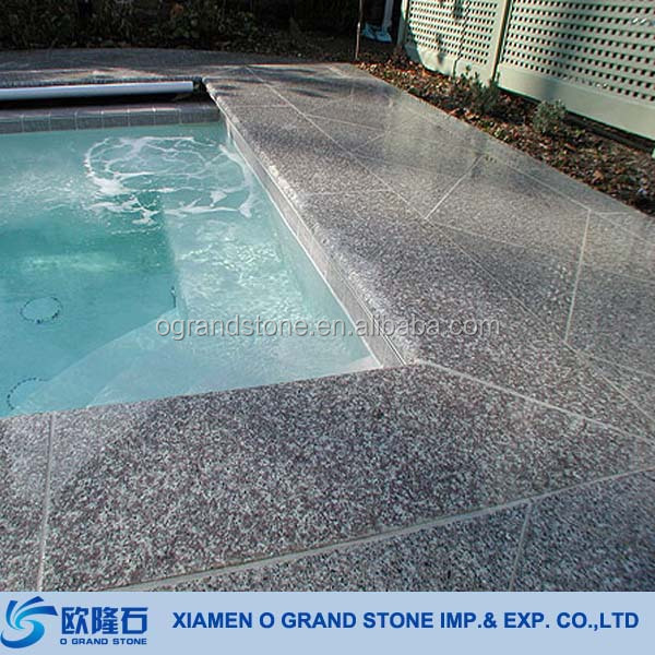 Yellow Sandstone Swimming Pool Bullnose Edge Tile Swimming Pool - Bullnose tiles for pools