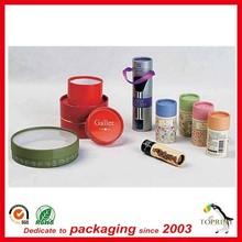 elegent recyclable lip balm packaging cardboard tubes cosmetic packaging set