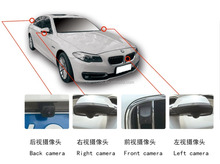3D around view monitor 360 degree camera car bird view avm system