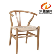 Dining chair wood Y wood chair Wishbone chair from factory A01-1