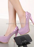 2015 new ningbo jushine adjustable ergonomic Foot Rest home funiture footrest
