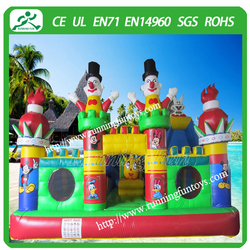 China giant inflatable combo, inflatable clown castle for sale
