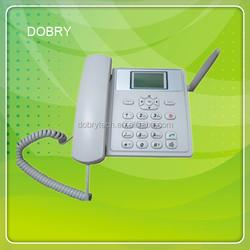 Good price! GSM or cdma desk phone 450MHZ 800MHZ with FM radio multi-language