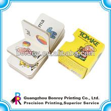 Children educational cardboard books printing service
