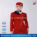 uniforme para las líneas aéreas