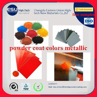 Hot sale Electrostatic thermoset metallic effect Electrical Applicance Powder Coating Pp Exterior