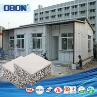 OBON waterproof cement board price temporary wall panels building materials