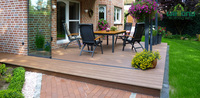 fire resistance WPC wood composite decking suitable for indoor