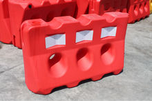 Old type three holes Plastic traffic Barrier