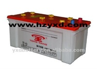 150AH Dry Charged heavy duty Car storage Battery