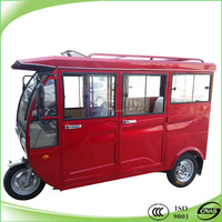 New design cng 3 wheel enclosed motorcycle tricycle