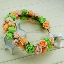 Designer useful petals catalog silk flower lei wreaths