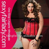 Hot selling 2014 wholesale queen size corset