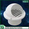 high quality aluminum round mushroom hood central air conditioning air vent