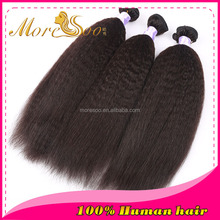 cheap unprocessed mongolian virgin hair afro kinky curly human remy hair for black women