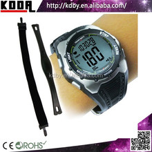 Shenzhen koda horologe New products Pulse Heart Rate Fitness Monitor Watch with wrist pedometer