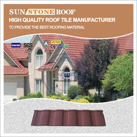 oriental red tiles for pagoda roof and nigeria buildings