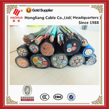 Flame retardant low smoke 0.6/1kV copper conductor XLPE insulated electrical cable