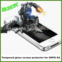 explosion proof Real Glass tempered glass screen protector for oppo N3,9H tempered glass film for oppo N3