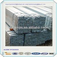 superior galvanized square pipe !!! steel structure
