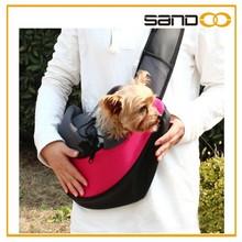 Outdoor pet carrier dog bag with shoulder strap for pets lover
